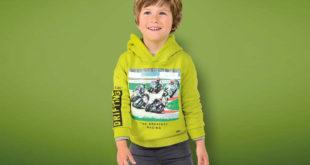 Zielone ubranko dla przedszkolaka