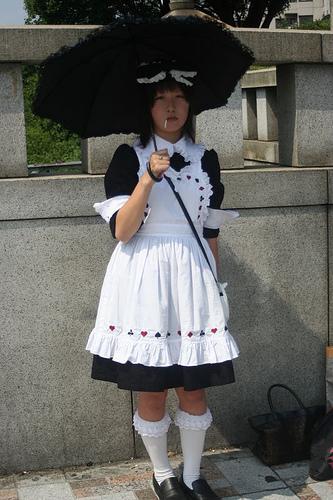 japońska gotycka lolita