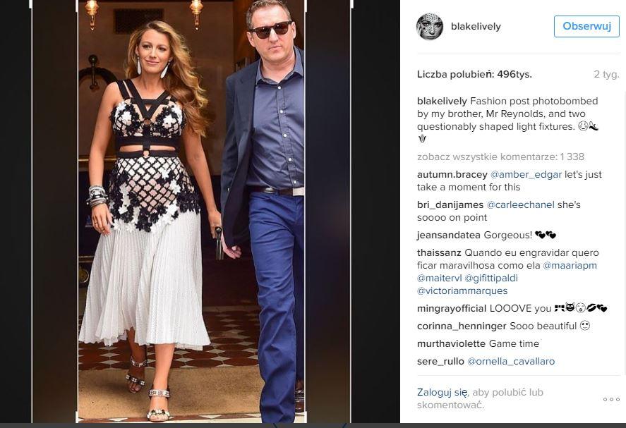 /Blake Lively moda w ciąży