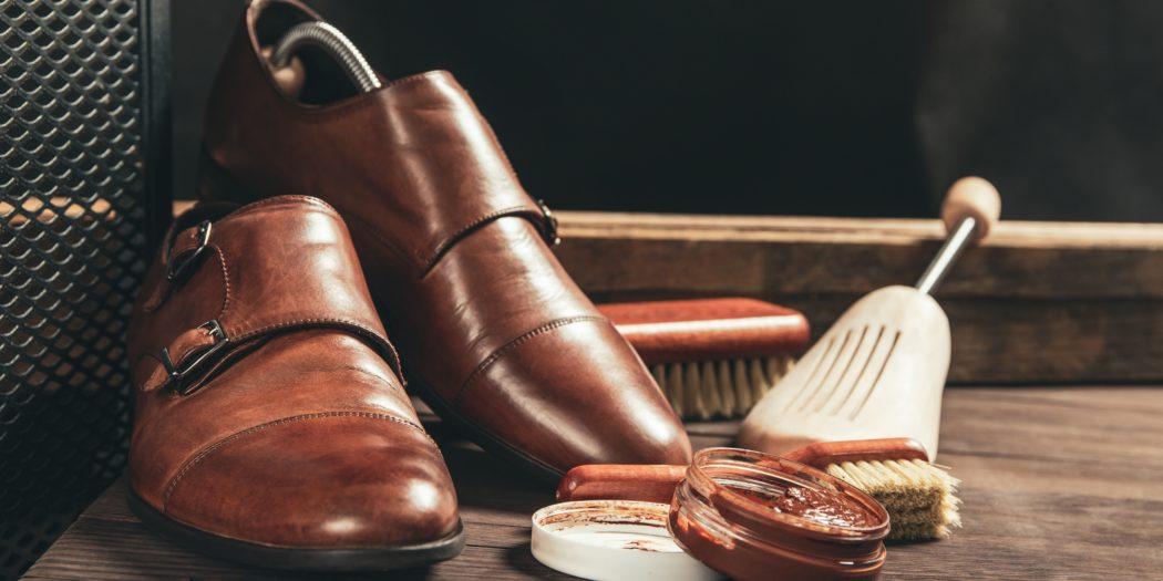 buty skórzane i akcesoria do pielęgnacji butów