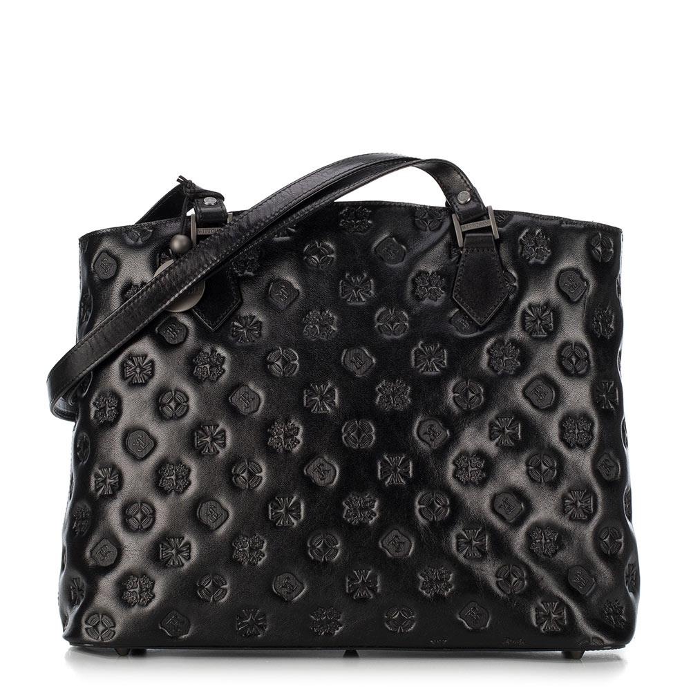 czarna torebka do biura