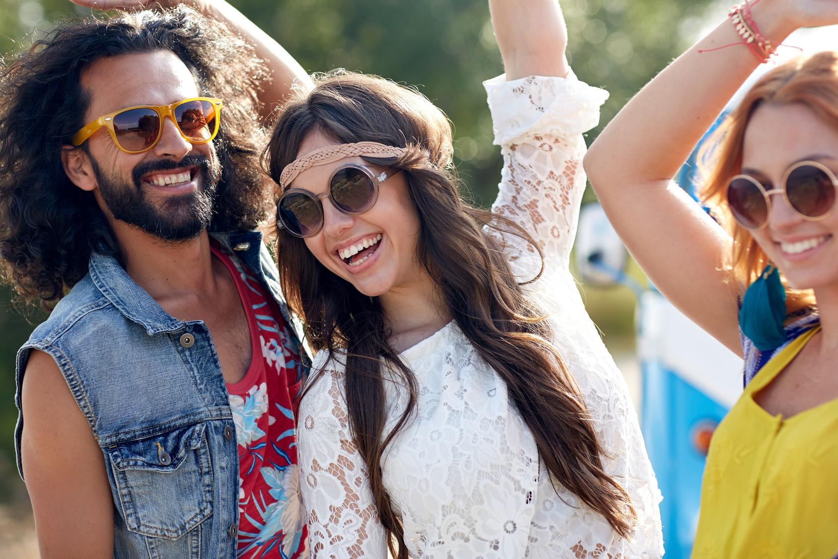 Styl hippie rządzi na festiwalach
