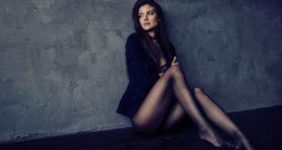 Kobieta w rajstopach