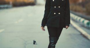 Kobieta w kurtce