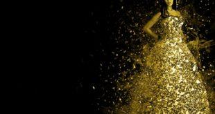 Kobieta w złocie
