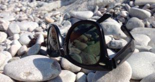 Okulary Ray Ban na plaży