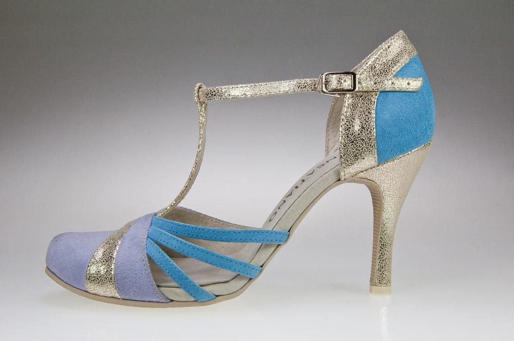buty ślubne kolor
