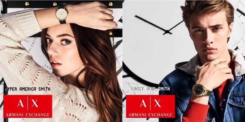zegarki młodziezowe Armani Exchange