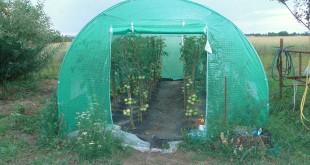 Tunel foliowy ogrodniczy z wzmocnioną folią