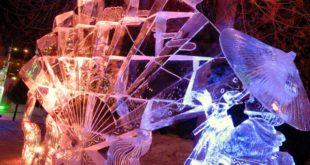 Najciekawsze wystawy rzeźb lodowych