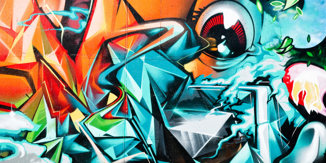 Graffiti sztuka uliczna