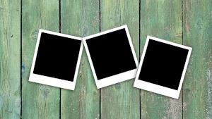 Czarne fotki na zielonych deskach