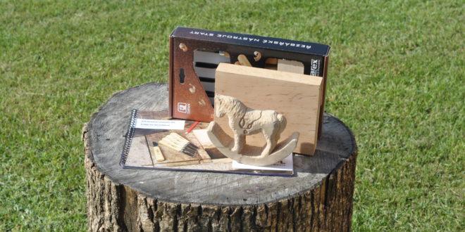 Rzeźba i drewno na pniu
