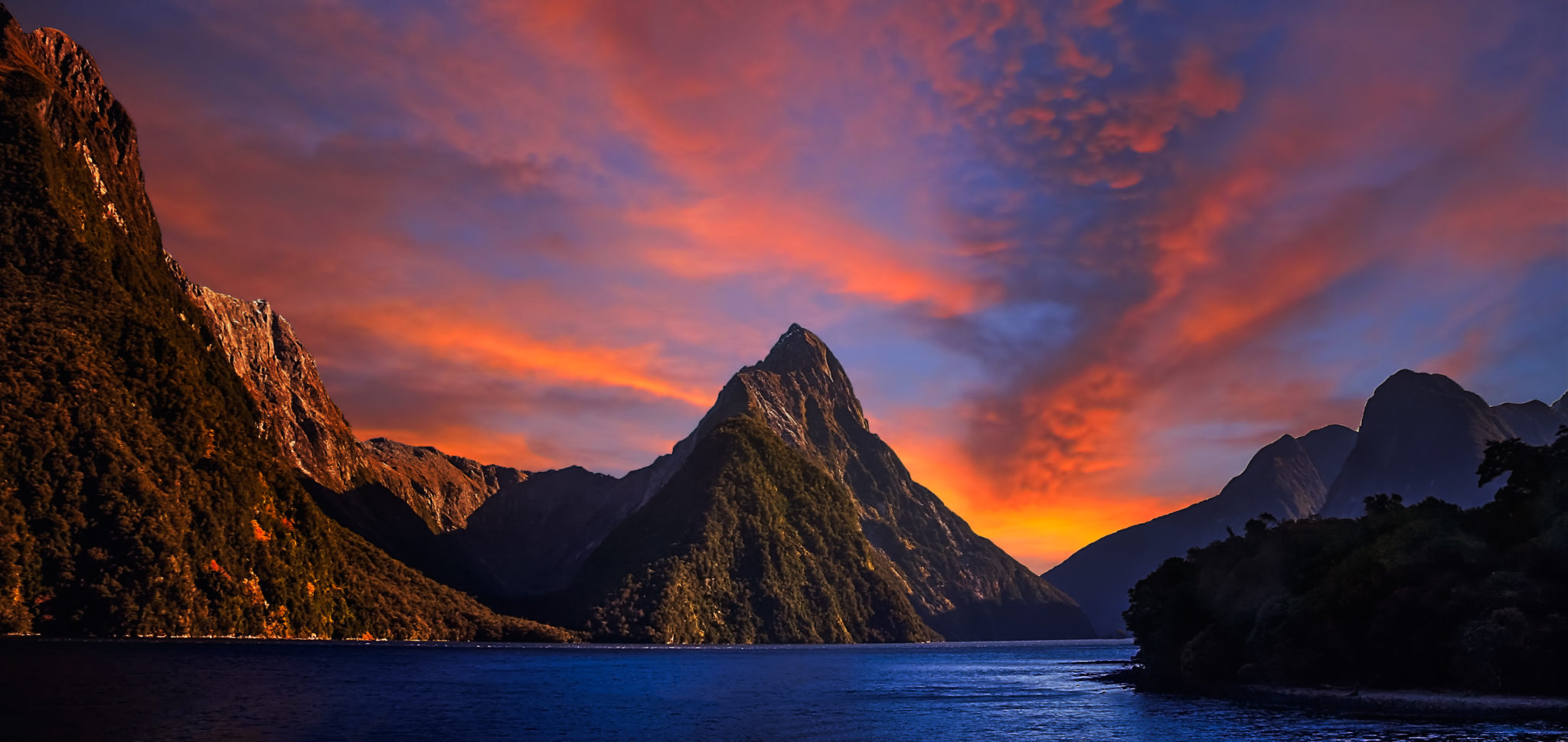 Milford Sound Nowa Zelandia