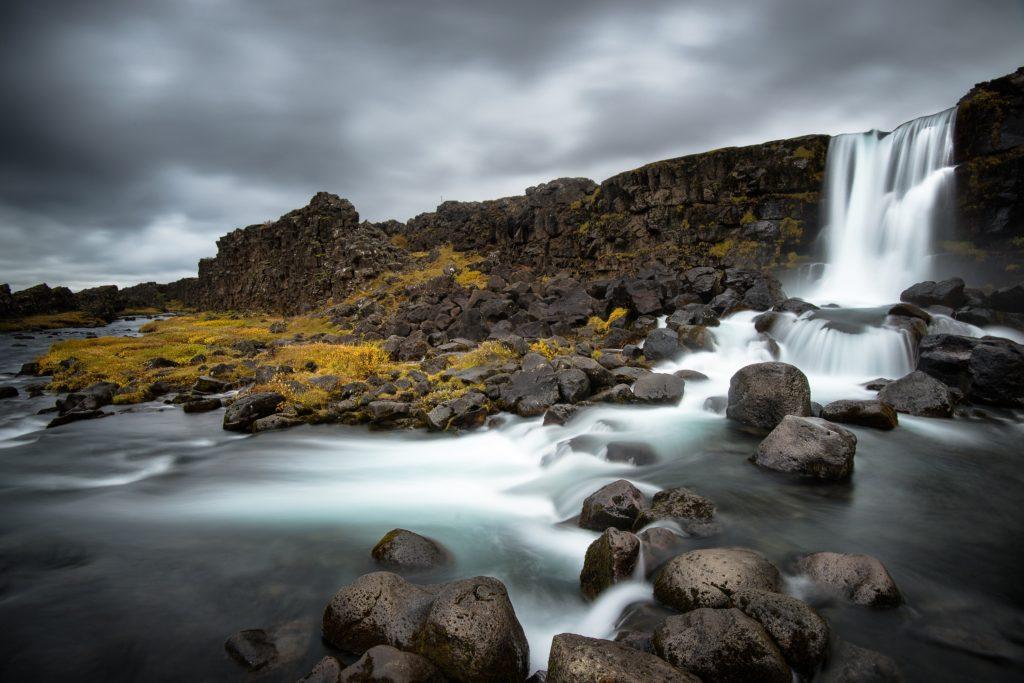 Pngvellir park narodowy Islandii