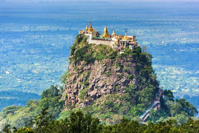 Taung Kalat (Mjanma/Birma) klasztor