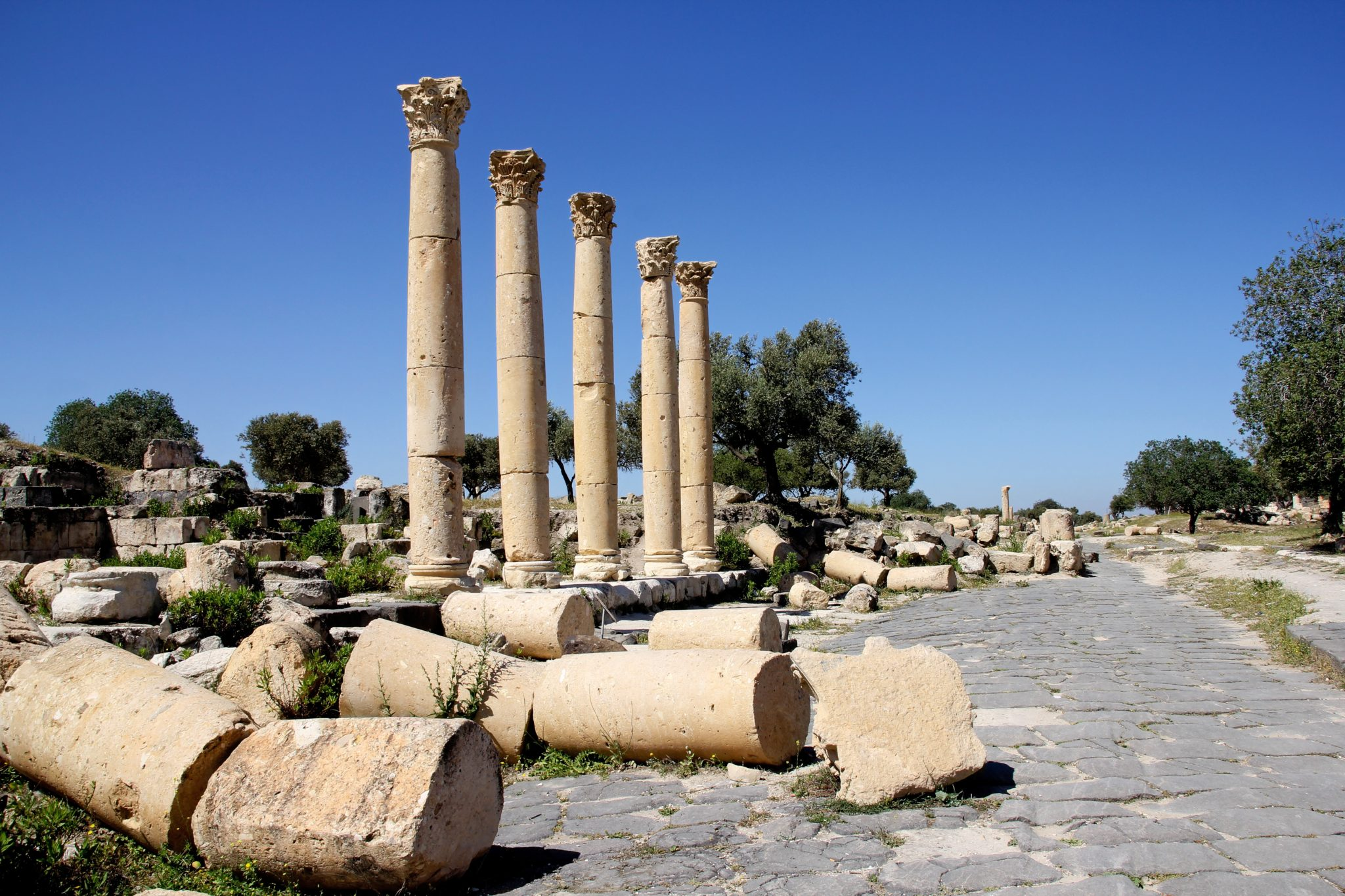Umm Qays, Jordania