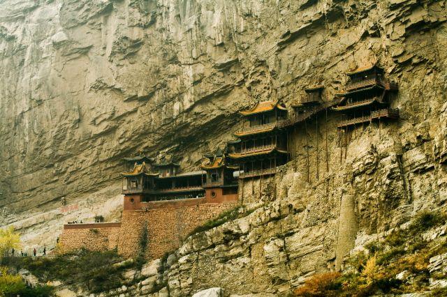 Wisząca Świątynia (Chiny) klasztor