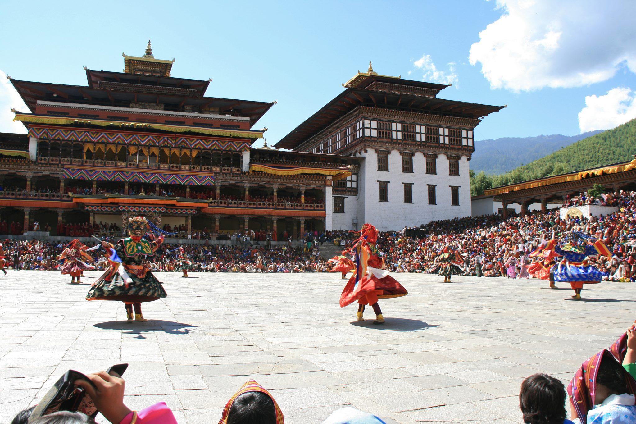 Buthan, festiwal Thimphu Tshechu