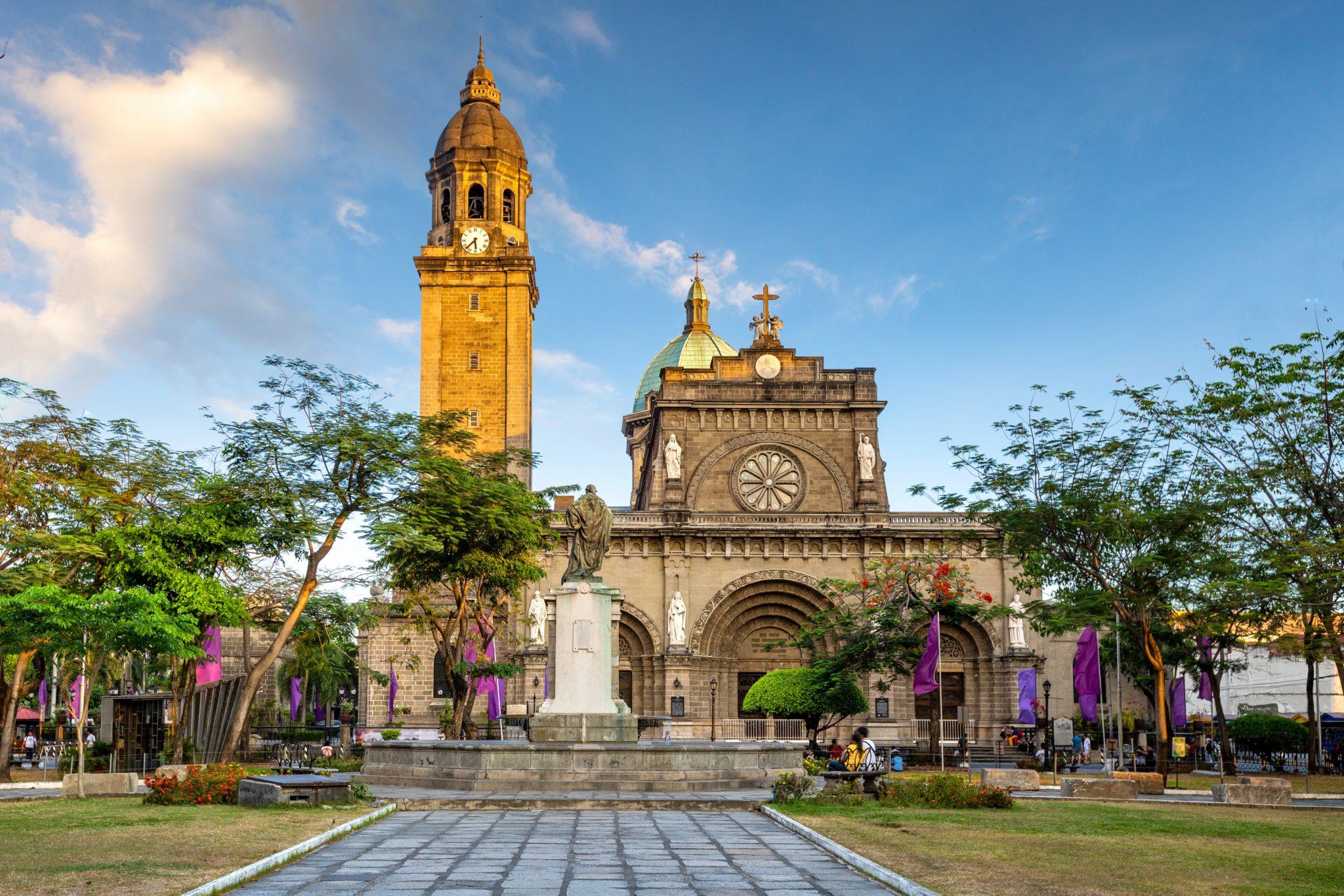 Manila Katedra Filipiny