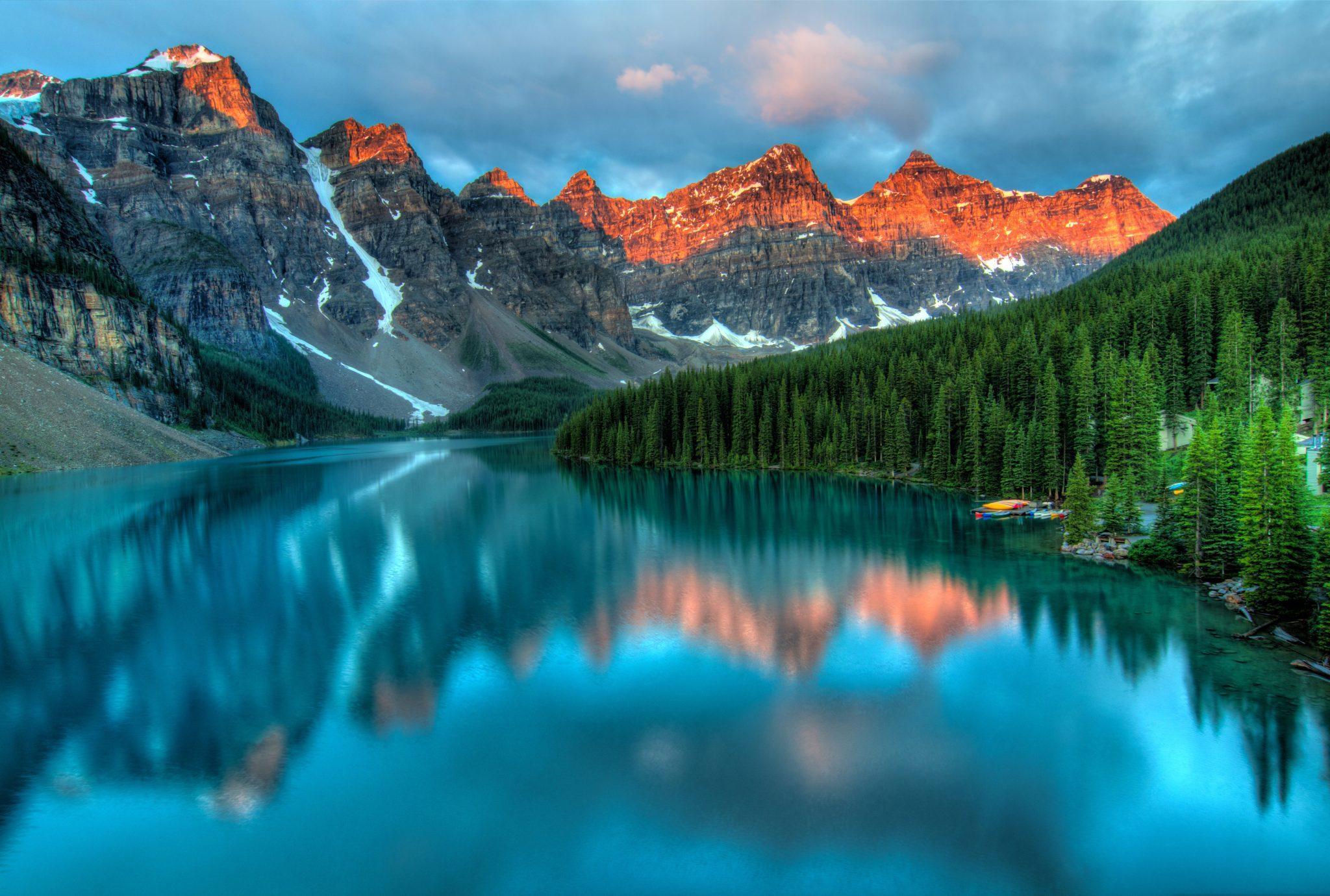 Kanada jezioro Moraine