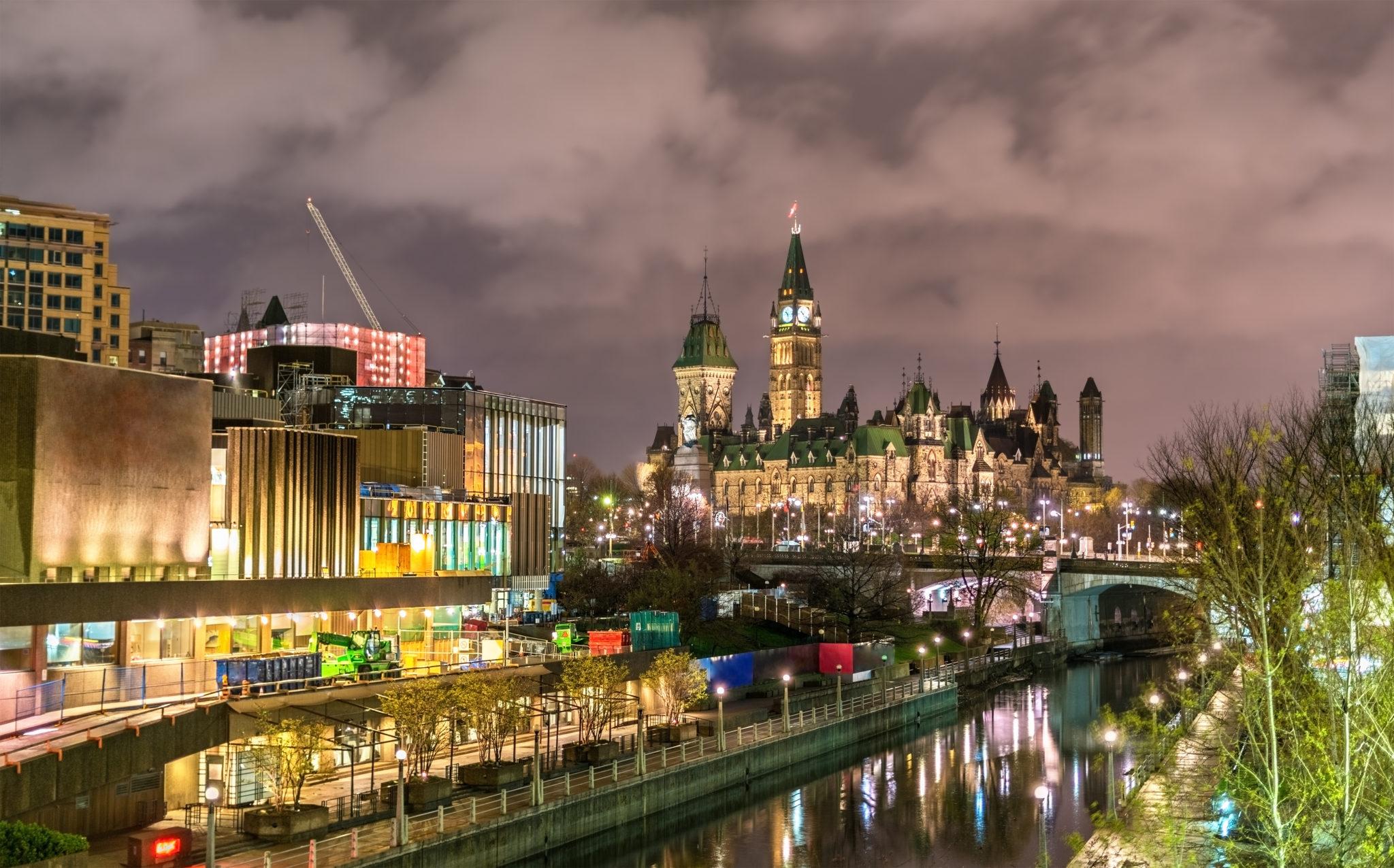 parlament w Ottawie Kanada