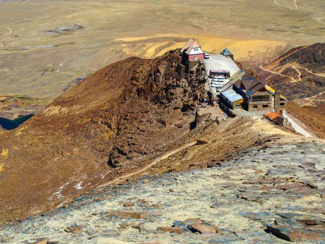 Lodowiec Chacaltaya w Boliwii