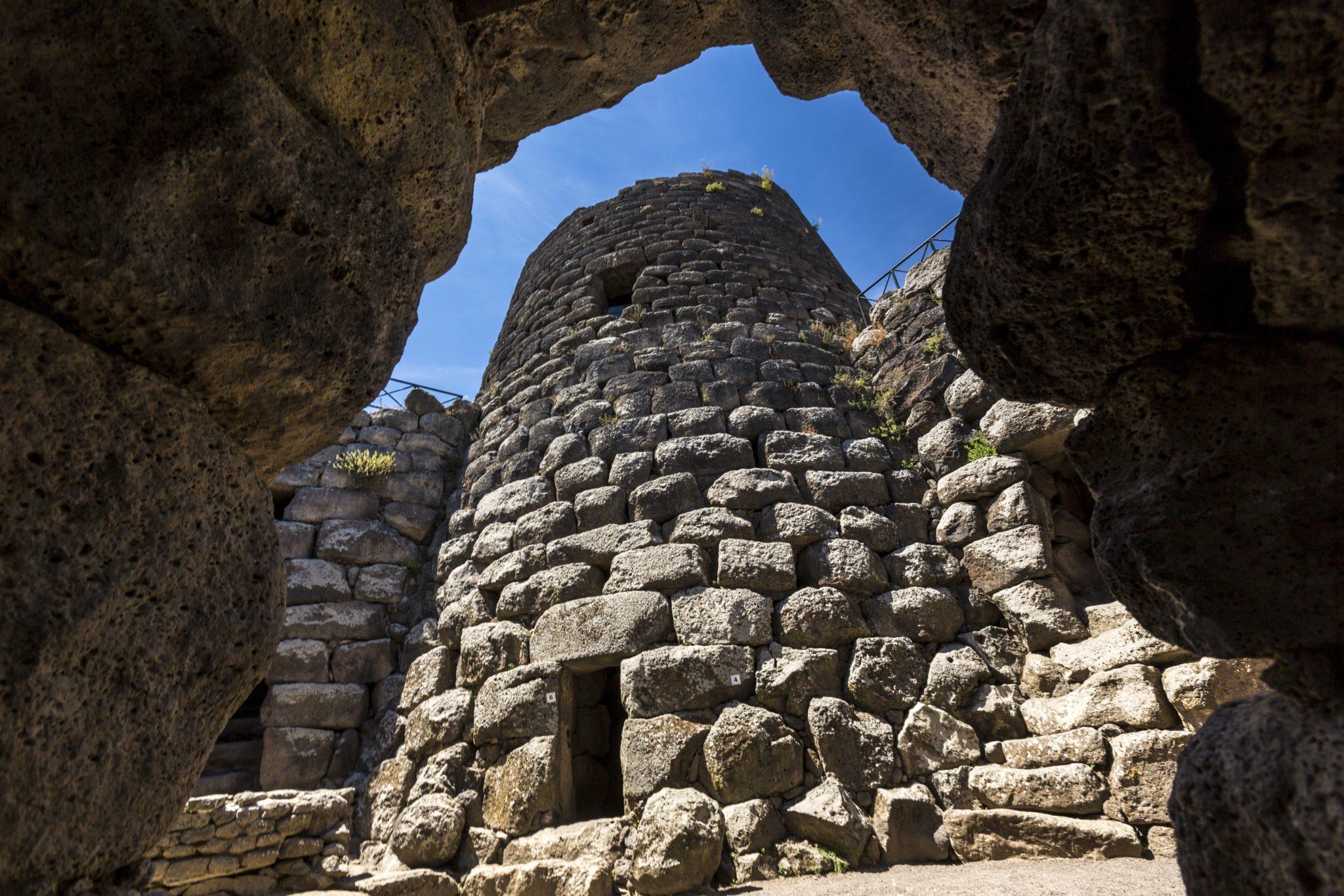 Nuraghe w Sardynii