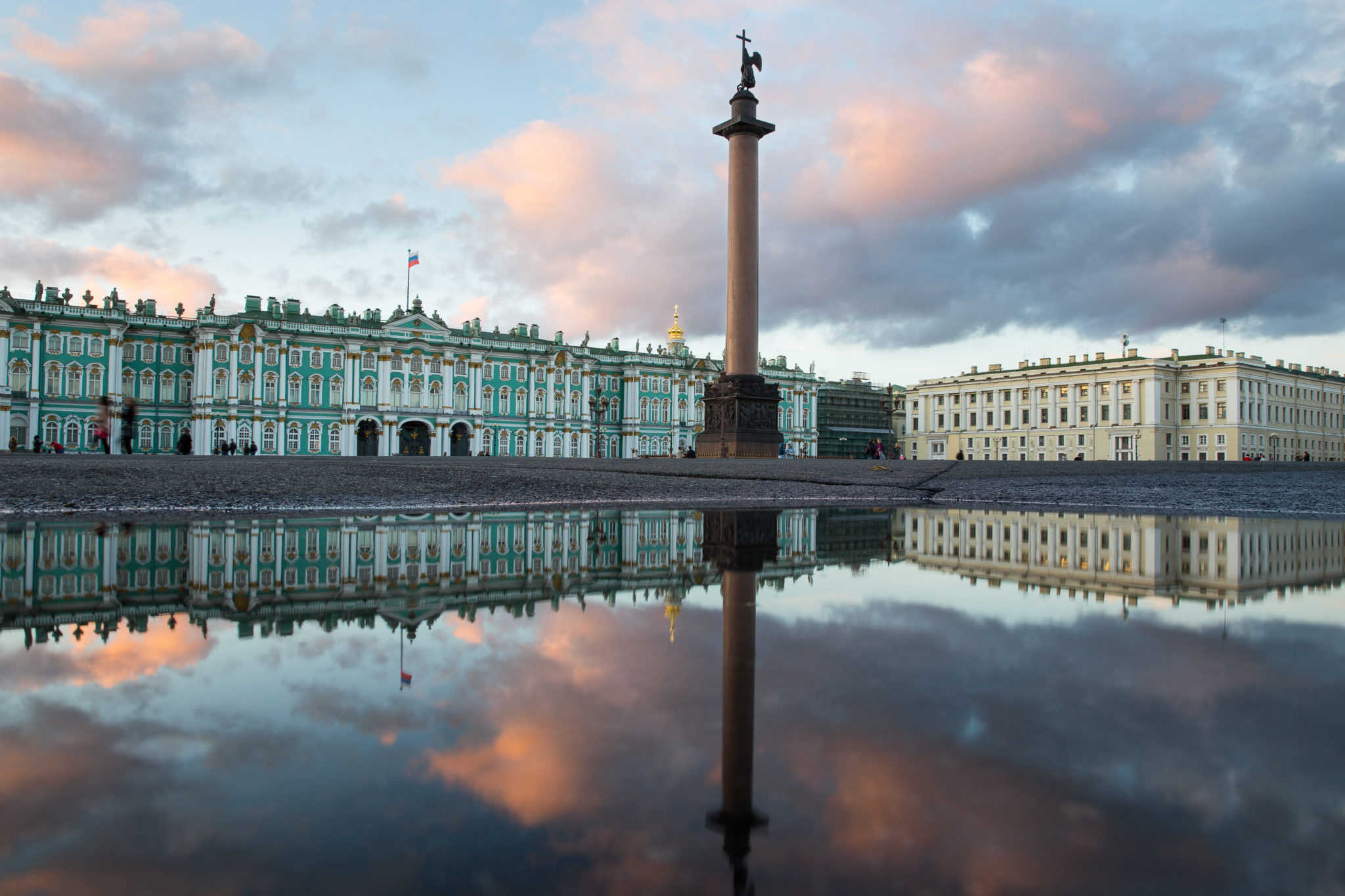 Plac Pałacowy Petersburg