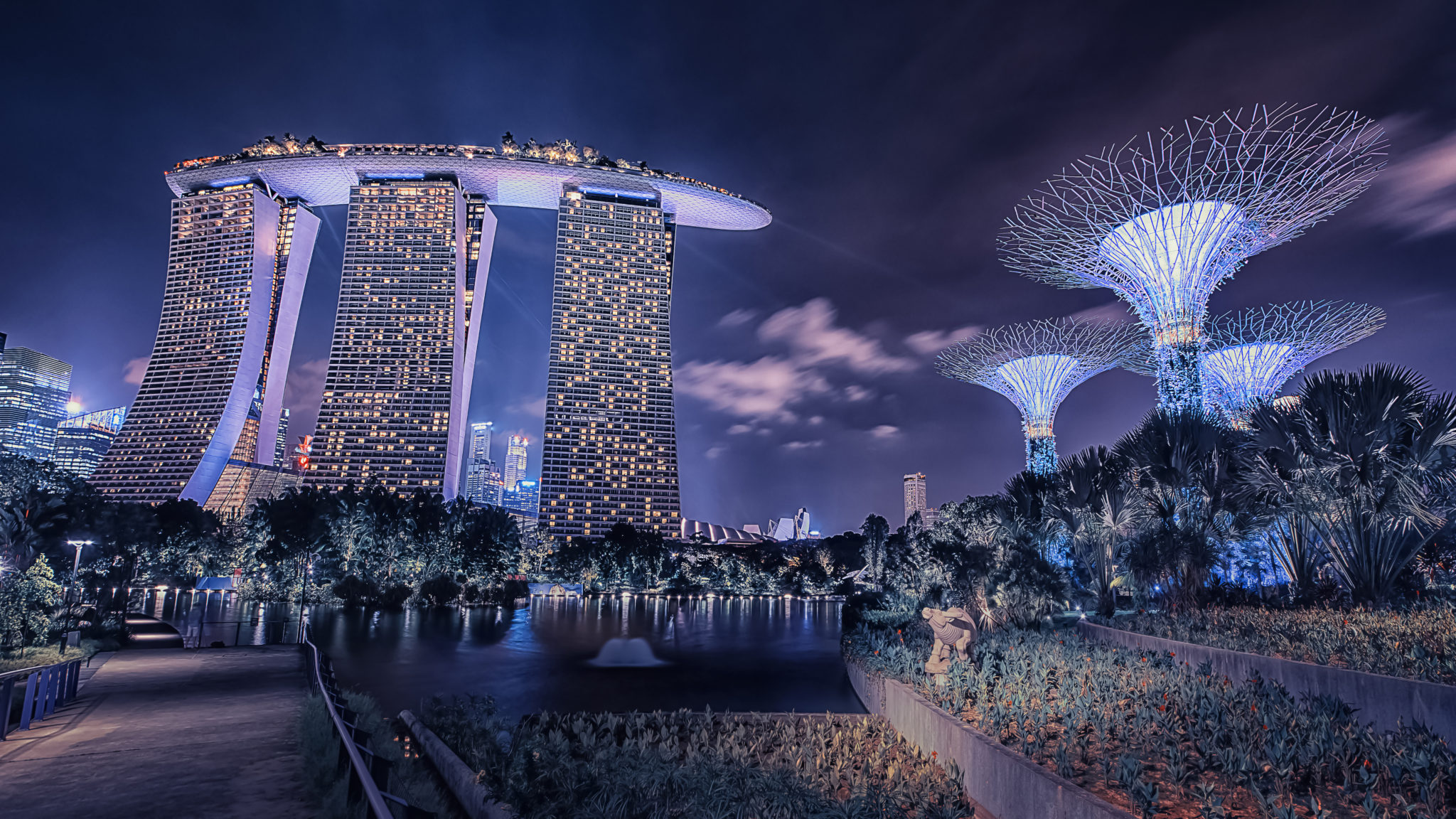 Marina Bay Sands w Singapurze