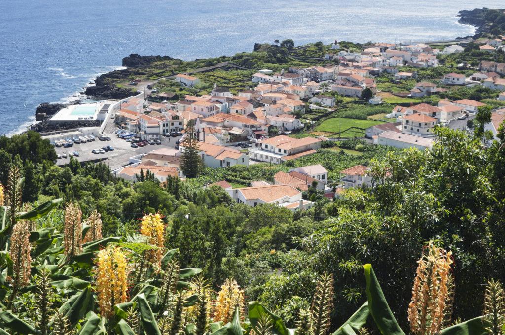 Wioska na Azorach