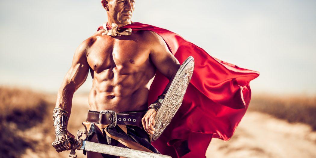 Braga Romana gladiator