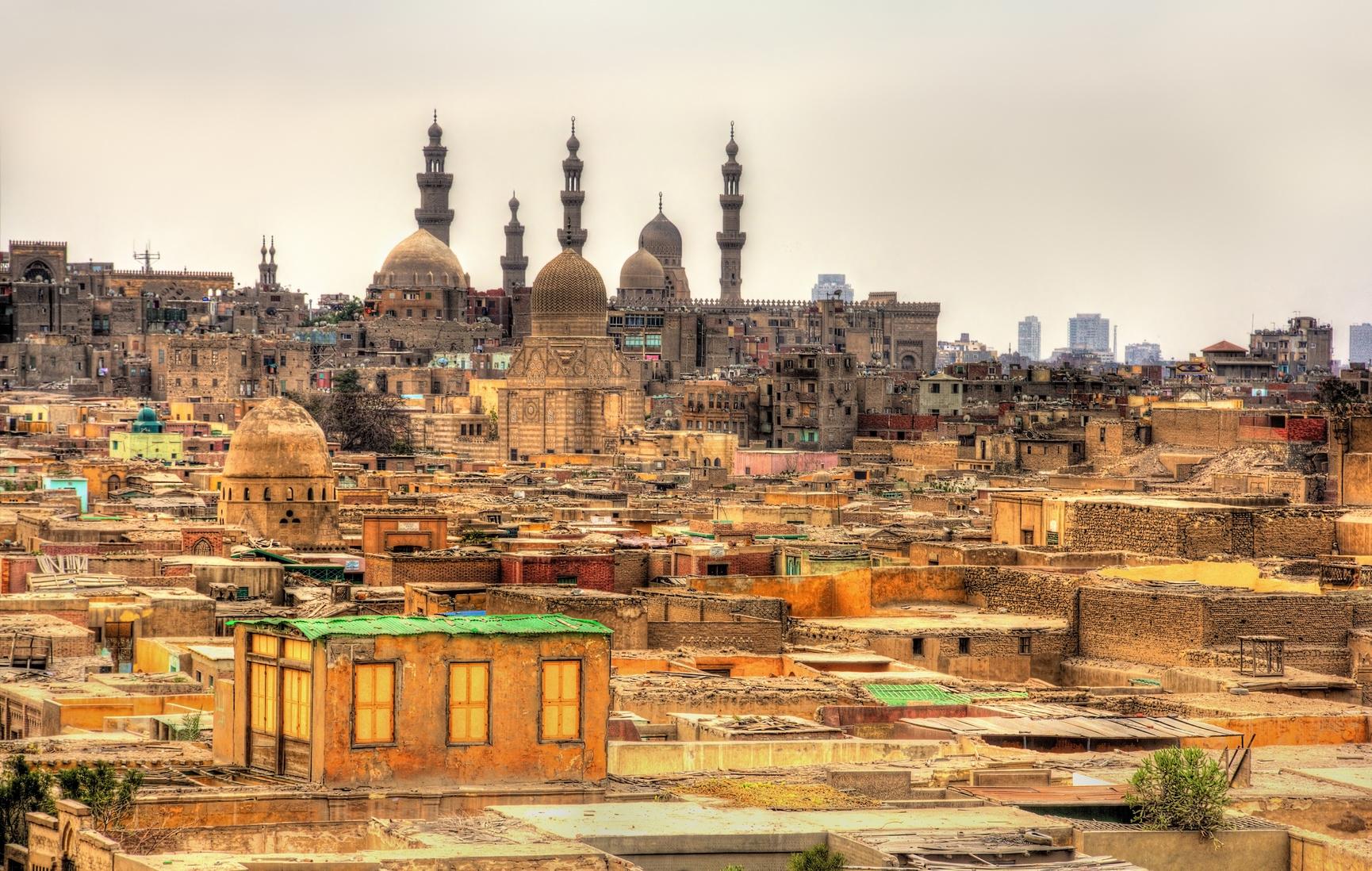 Bab El-Wazir cmentarz w Kairze