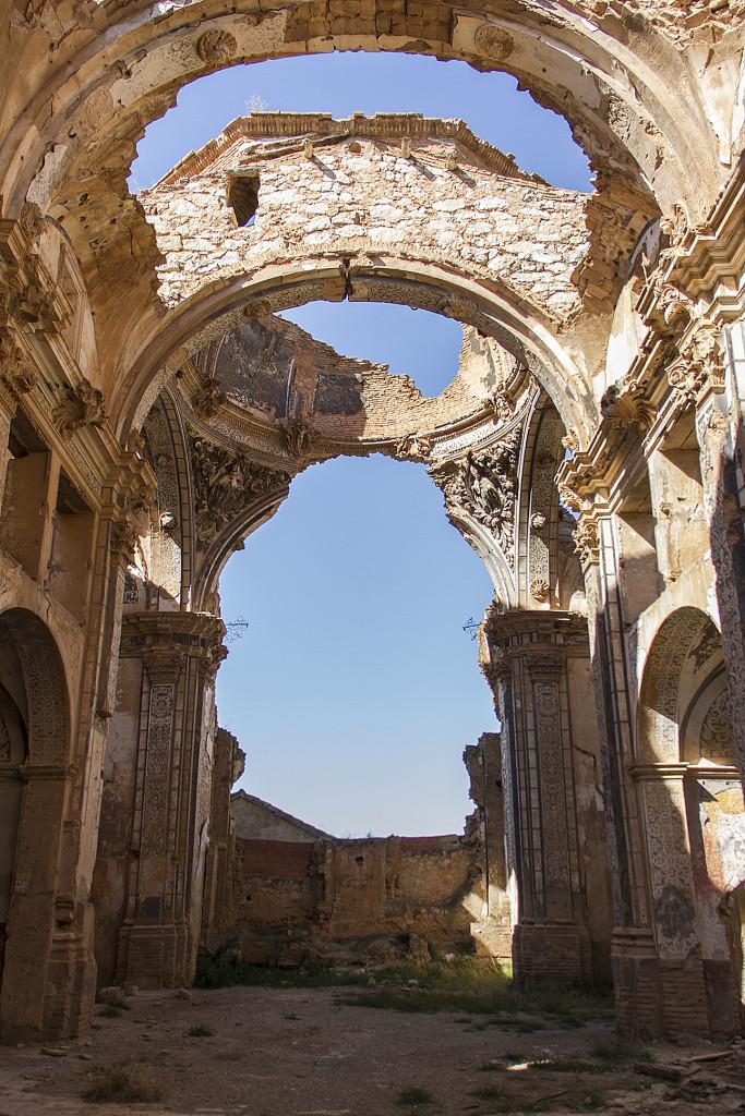 Belchite ruiny kościoła św. Augustyna