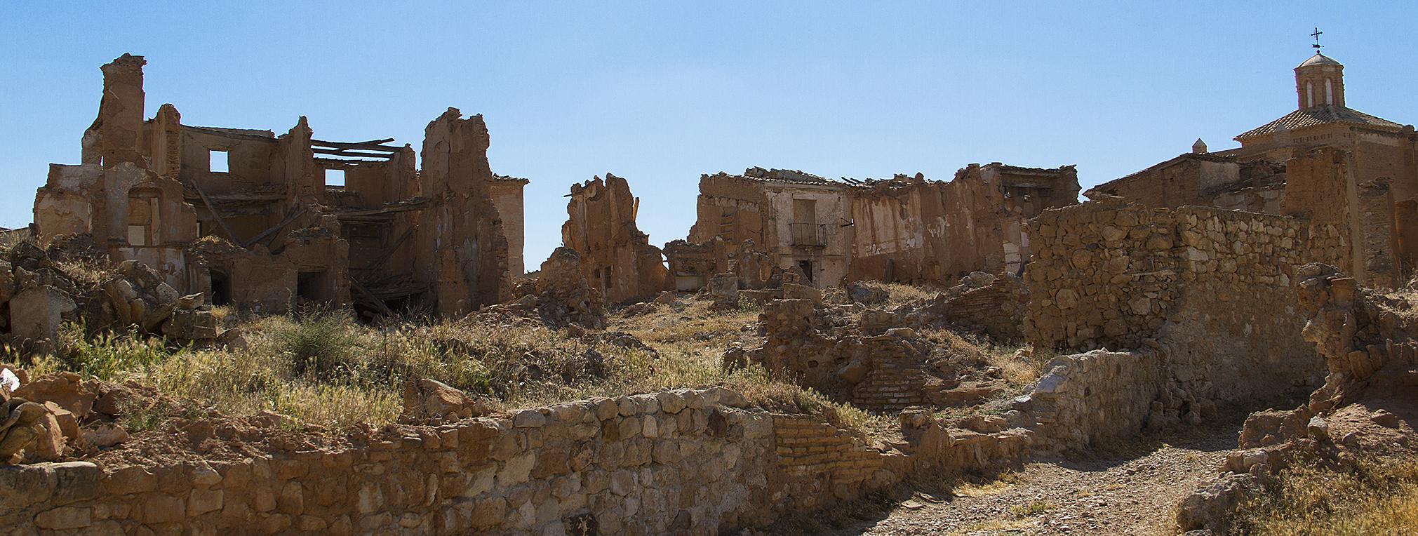 Belchite czyli miasto duchów