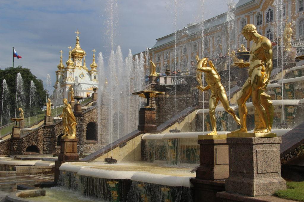 Zespół pałacowo – parkowy w Peterhof