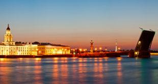 Białe noce w Petersburgu