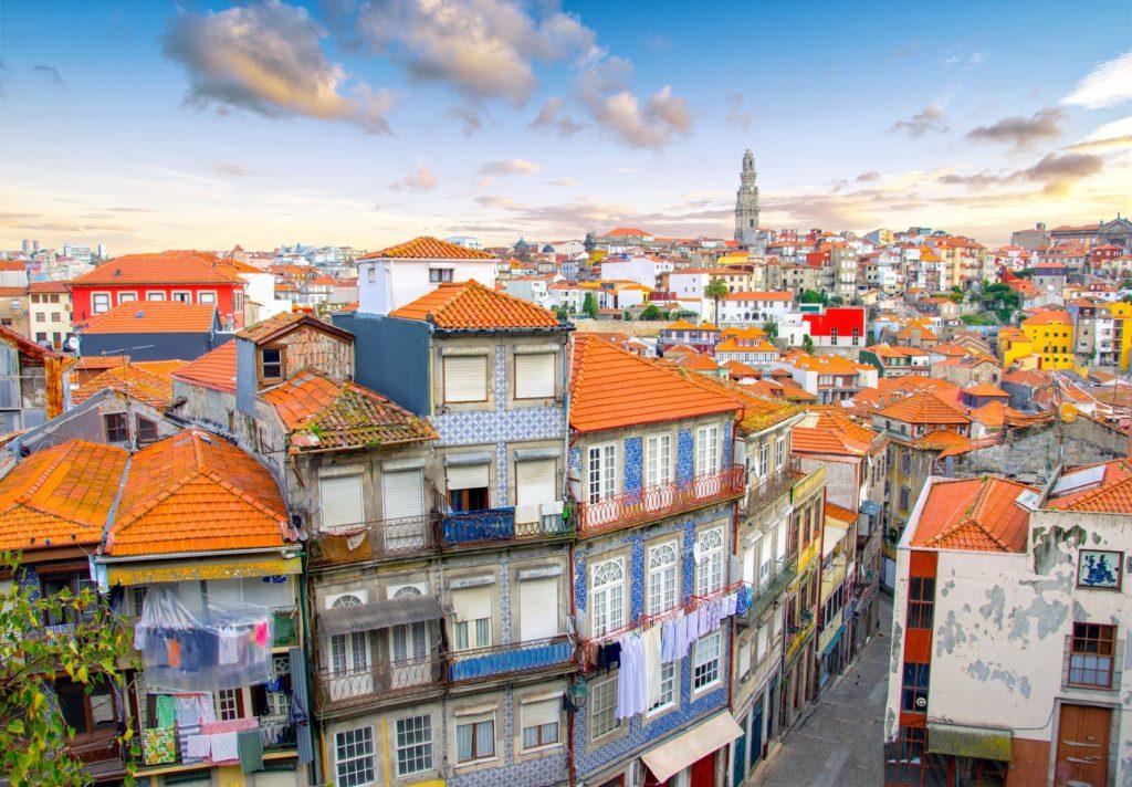Porto, Portugalia Stare Miasto