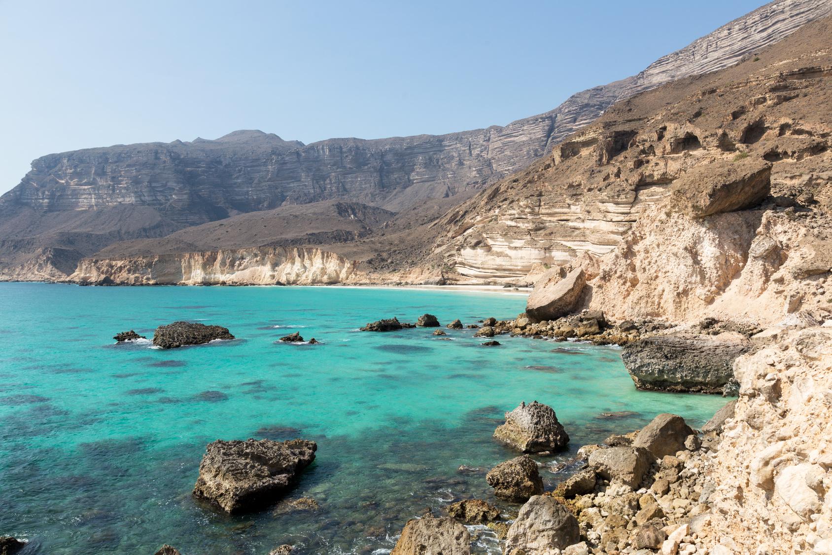 wybrzeże Salalah