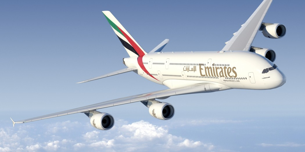 A380 Emirates zaczną latać do Pragi, Tajpej i Wiednia,