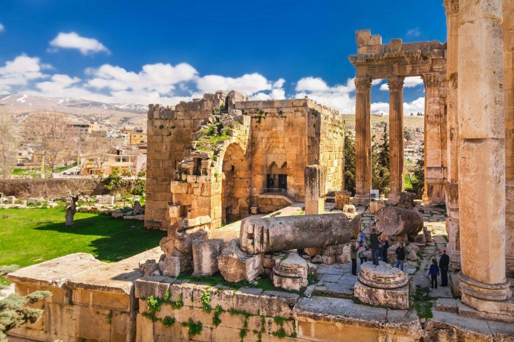 Baalbek w Libanie