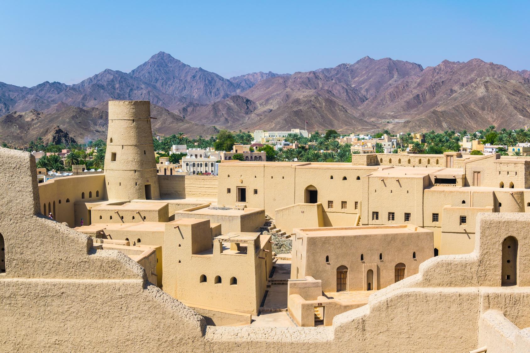 Fort Bahla w Omanie