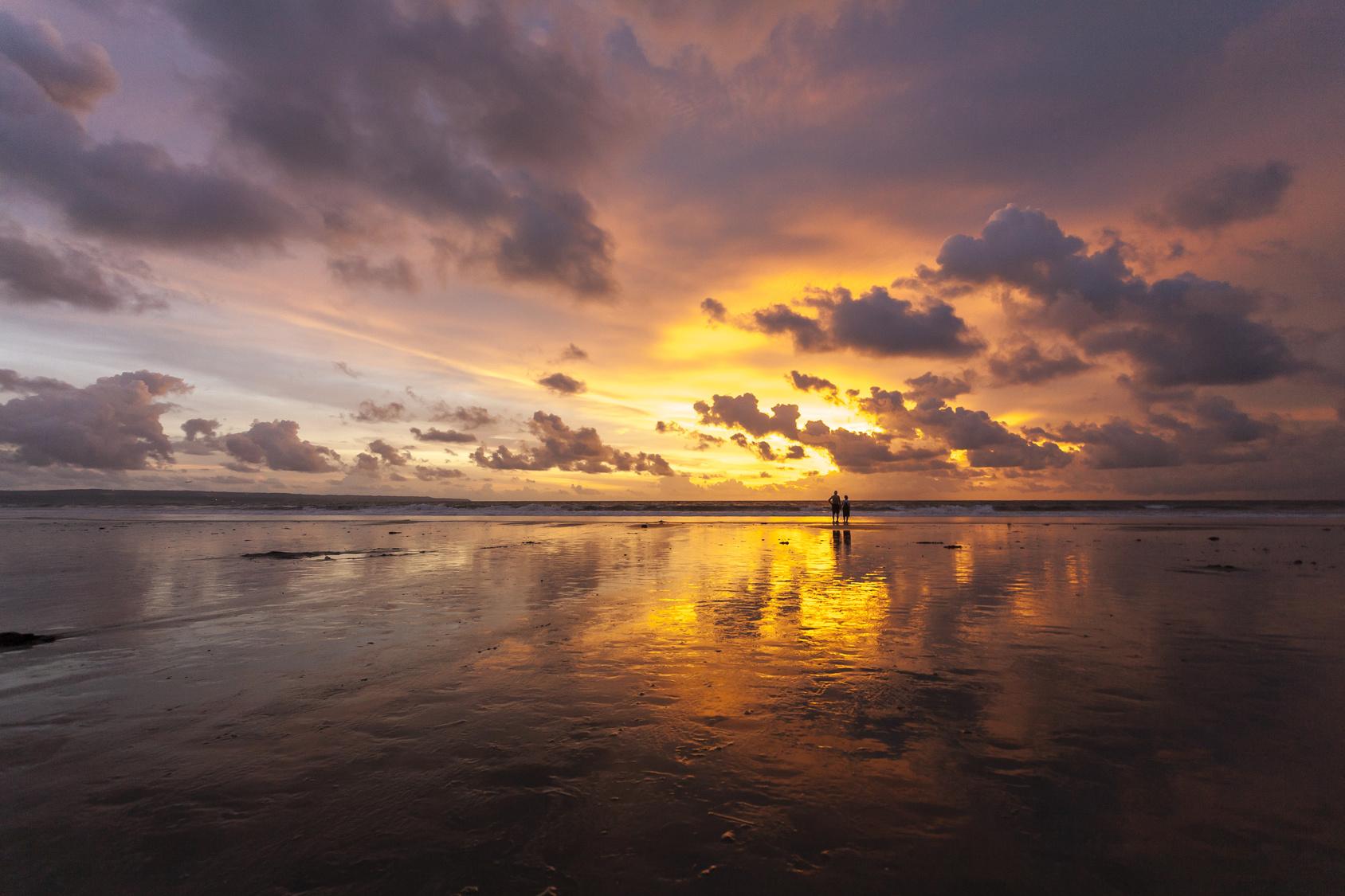 Zjawiskowa plaża Kuta na Bali