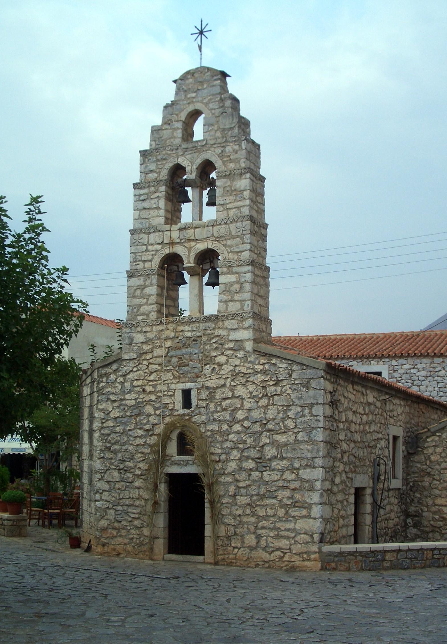 Grecja - Korfu - areopoli agii taxiarchi