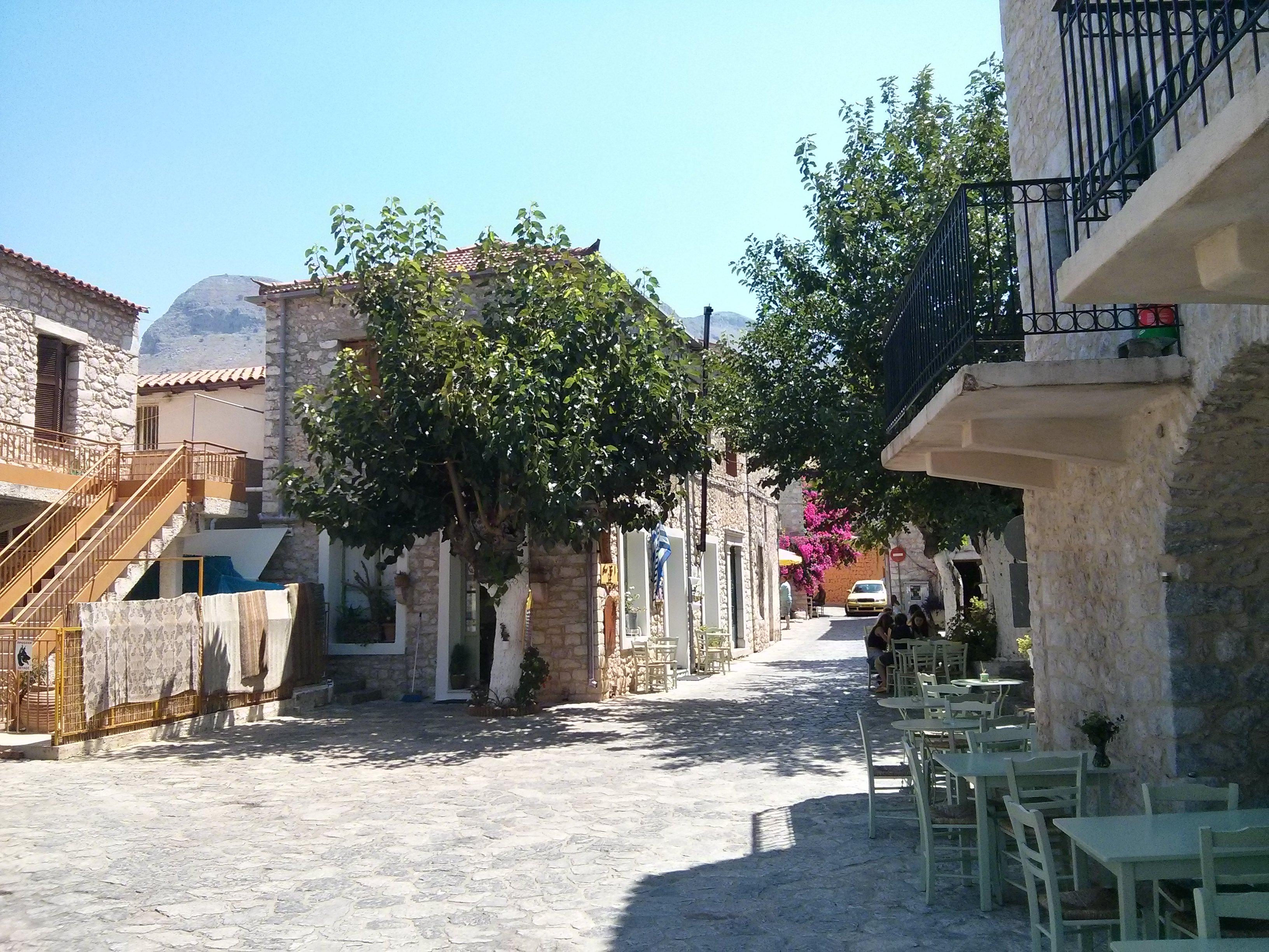 Grecja - Korfu - areopolis small square