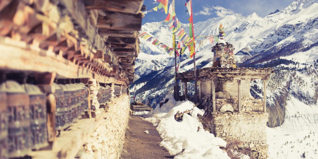 Annapurna Circuit Trekking Hiking Trail