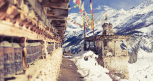 Annapurna Circuit Trekking Hiking Trail