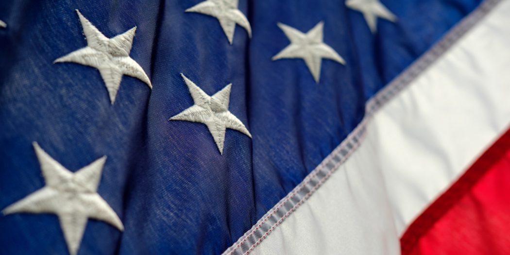 Flaga amerykańska podróż do usa bez wizy