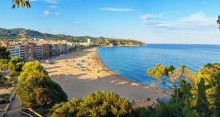 Plaże Costa Brava w Lloret de Mar, Hiszpania