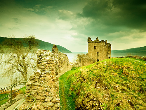 Gdzie ukrywa się potwór z Loch Ness?